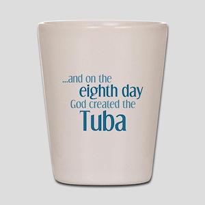 Tuba Creation Shot Glass
