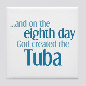 Tuba Creation Tile Coaster