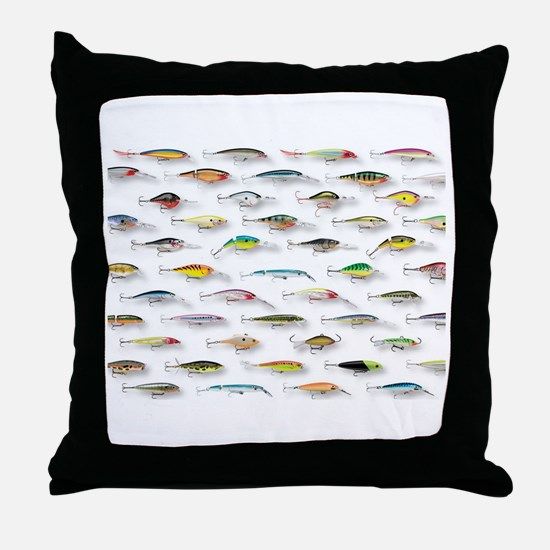 Funny Tropical fish Throw Pillow