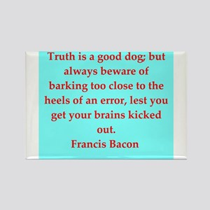 Francis Bacon quotes Rectangle Magnet