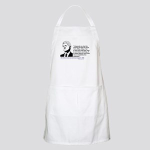 """Bill Clinton on the word """"is"""" BBQ Apron"""