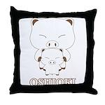 oshioki Throw Pillow