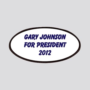 Gary Johnson For President 20 Patches