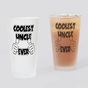 Coolest Uncle Ever Drinking Glass
