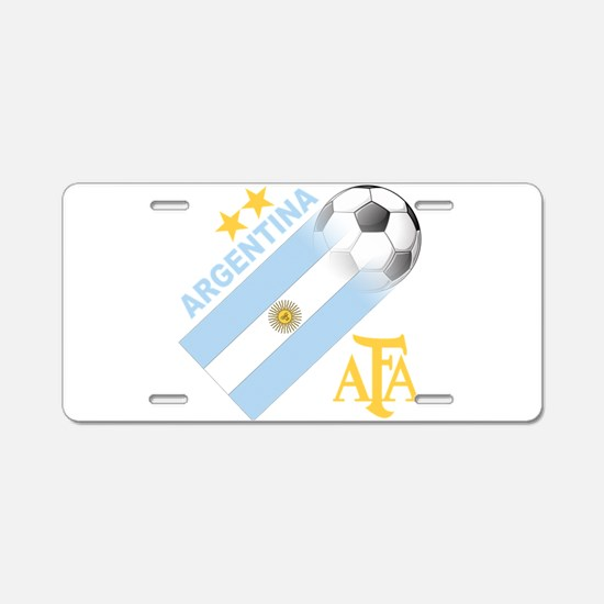 Argentina world cup soccer Aluminum License Plate