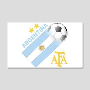 Argentina world cup soccer Car Magnet 20 x 12