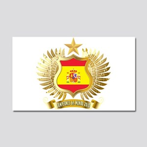 Spain world cup champions Car Magnet 20 x 12