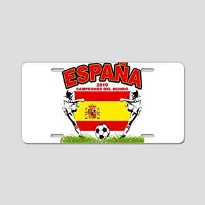 Spain World cup champions Aluminum License Plate