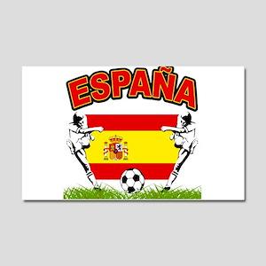 Spainish Soccer Car Magnet 20 x 12