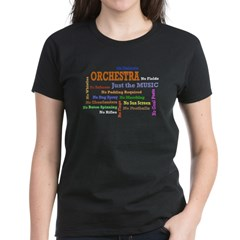 Orchestra-Just the Music Women's Dark T-Shirt
