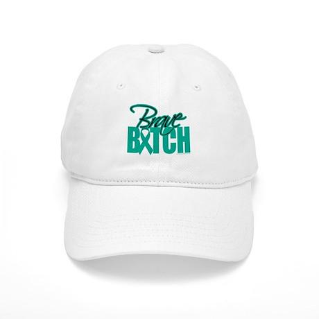 Brave Bitch Ovarian Cancer Cap