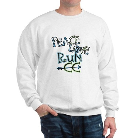 Peace Love Run CC Sweatshirt