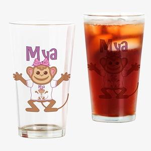 Little Monkey Mya Drinking Glass