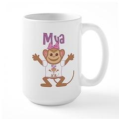 Little Monkey Mya Large Mug