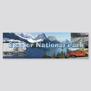 ABH Glacier National Park Sticker (Bumper)