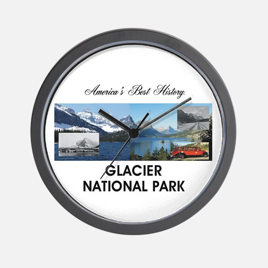 ABH Glacier National Park Wall Clock