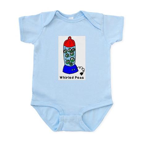 Whirled Peas (World Peace!) Infant Creeper