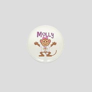 Little Monkey Molly Mini Button