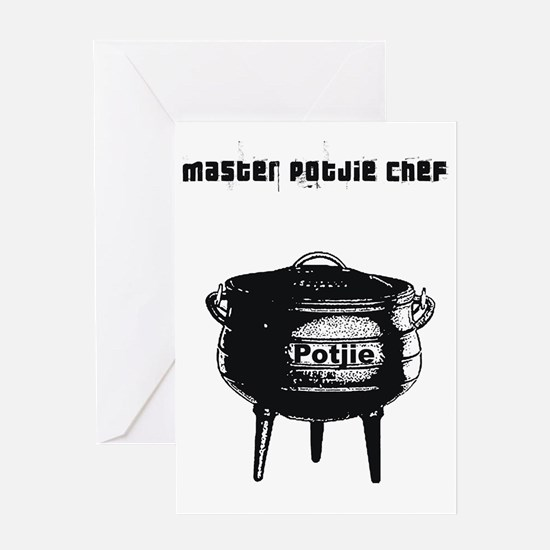 Potjie Chef Greeting Cards