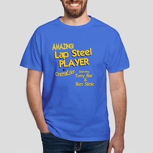 Lap Steel Guitar Dark T-Shirt