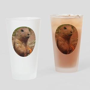 Prairie Dog Drinking Glass