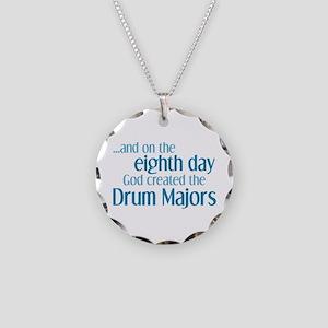 Drum Major Creation Necklace Circle Charm