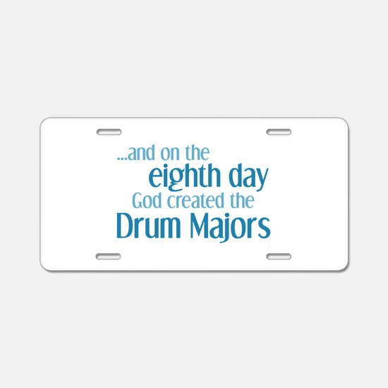 Drum Major Creation Aluminum License Plate