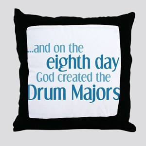 Drum Major Creation Throw Pillow