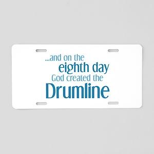 Drumline Creation Aluminum License Plate