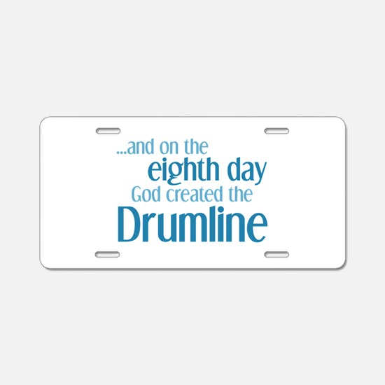 Drumline Creation Aluminum License Plate