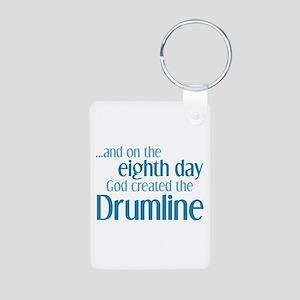 Drumline Creation Aluminum Photo Keychain