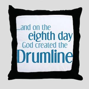 Drumline Creation Throw Pillow