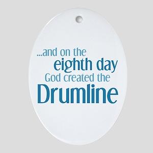 Drumline Creation Ornament (Oval)