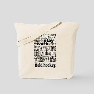 Field Hockey Gift Tote Bag