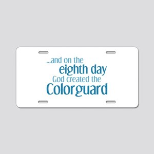 Colorguard Creation Aluminum License Plate
