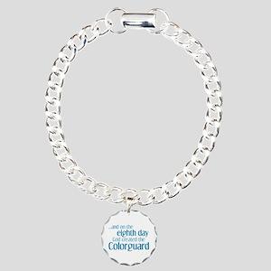 Colorguard Creation Charm Bracelet, One Charm