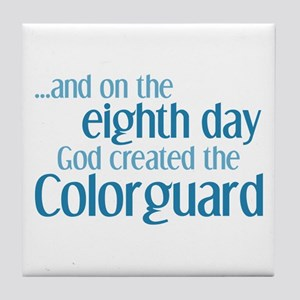 Colorguard Creation Tile Coaster