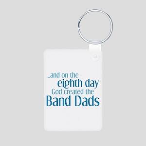 Band Dad Creation Aluminum Photo Keychain