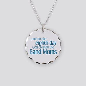 Band Mom Creation Necklace Circle Charm