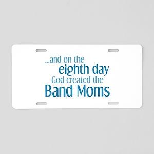 Band Mom Creation Aluminum License Plate