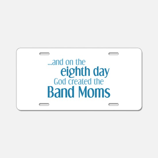 Band Mom Creation Aluminum License Plate