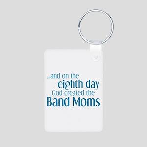 Band Mom Creation Aluminum Photo Keychain