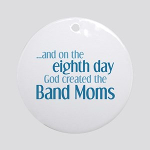 Band Mom Creation Ornament (Round)