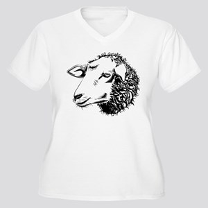 sheep Plus Size T-Shirt