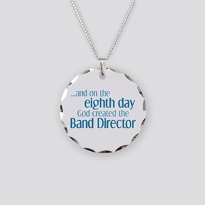 Band Director Creation Necklace Circle Charm