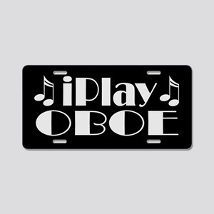Oboe Music License Plate Gift