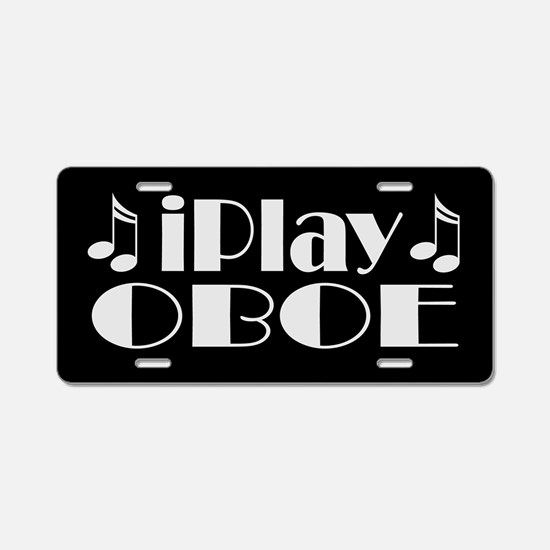 Oboe Music License Plate Gift