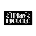 Piccolo Music License Plate Gift