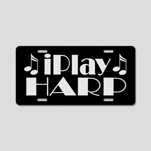 Harp Music License Plate Gift