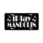 Mandolin Music License Plate Gift